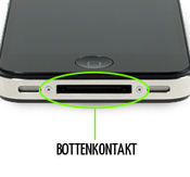 Byte av laddarkontakt / Dock iPhone 4/4s samt mic