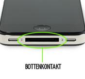 Byte av laddarkontakt / Dock iPhone 4/4s samt mic