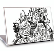 "GelaSkins MacBook Pro 17"" Skins - Good fences make good neighbors"
