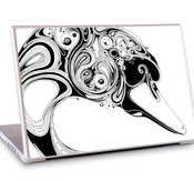"MacBook Air 11,6"" Skins GelaSkins - Swan"