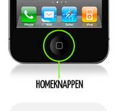 Laga Homeknappen iPhone 5
